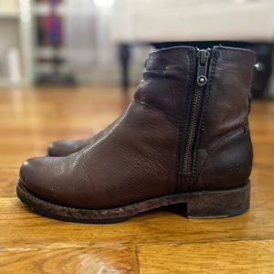Frye Double Zip Boot